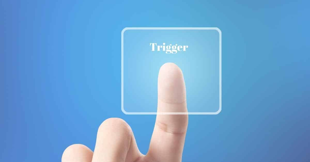 Triggered? <P> Lucky you…